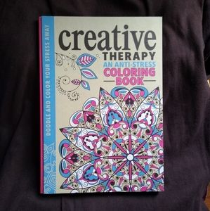Adult Coloring Book Antistress Relief Therapy